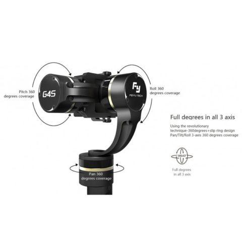 Feiyu Tech FY-G4 S Handheld Gimbal (3-Axis) voor GoPro