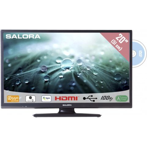 Salora 20LED9105CD LED tv met DVD speler