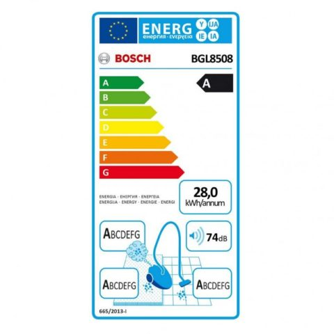 Bosch BGL8508 In'genius deep petrol stofzuiger